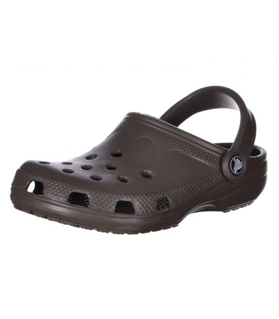 Сабо Crocs roomy fit dark